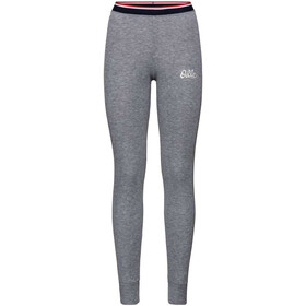 Odlo Active Originals Warm Pantaloni Donna, grey melange
